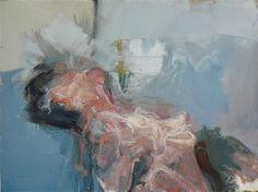 "Saatchi Art Artist: christos tsimaris; Oil 2012 Painting ""bust"""