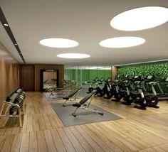 Wild Home Gym Design Inspirations: 2016 Interior Design Highlights
