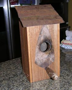 Image detail for -Pallet Wood Birdhouses - by Shrub @ LumberJocks.com ~ woodworking ...