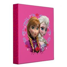 Disney Frozen Strong Bond, Strong Heart Binder. For details or ordering click on the image!