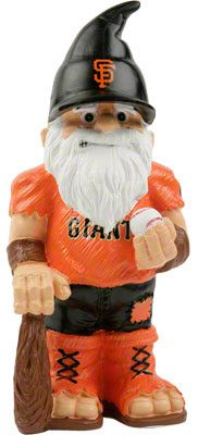 sf giants garden gnome
