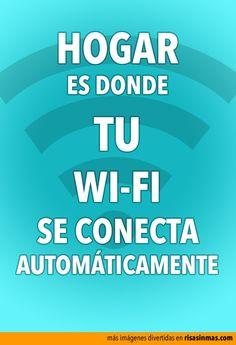 Hogar es donde se conecta tu Wi-Fi automáticamente.