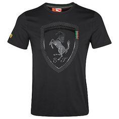 Scuderia Ferrari 2012 Logo T-Shirt Black