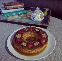 Flandelabuela Flan, Pancakes, Breakfast, Pudding, Morning Coffee, Creme Brulee, Pancake, Crepes