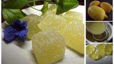 Domáce citrónové cukríky 120 ml vody 400 g kryštálového cukru1 bal. želatíny v prášku (20g)60 ml studenej prevarenej vody180 ml citrónovej šťavy (z 3-4 citrónov) Niekoľko lyžíc cukru na obaľovanie Želatínu nasypeme do 60 ml studenej vody a necháme 5-10 min. napučať. 400 g cukru zmiešame so 120 ml vody a chvíľu varíme na miernom plameni ,potom cukrový sirup zložíme, vmiešame doň želatínu a aj citr. šťavu. Dáme do formičiek na ľad  stuhnúť do chladn. na  2 hod.nakrájame na kocky,obalíme v…