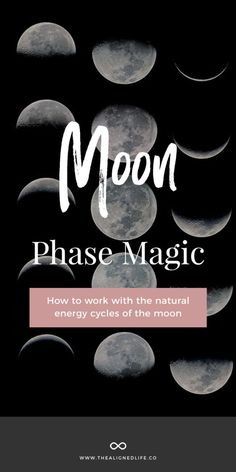 Moon Phase Magick: How To Work With Your Natural Rhythm - The Aligned Life New Moon Full Moon, Man On The Moon, New Moon Rituals, Full Moon Ritual, Human Body Unit, Space Activities, Law Of Attraction Tips, Moon Magic, Natural Energy