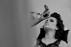 Making of da noiva no salão de beleza - Viny Appel - Fotografia de casamento