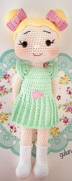 Amazing Baby Amigurumi Crochet Funny Pattern Ideas Part 17 Crochet Elephant Pattern, Crochet Doll Pattern, Crochet Patterns, Knitted Dolls, Crochet Dolls, Nursing Home Gifts, Doll Patterns, Pattern Ideas, Felt Toys