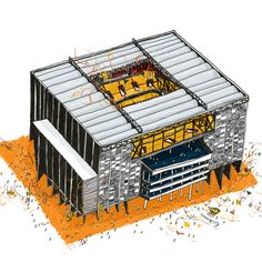 Brazil's World Cup Stadiums - Arena da Baixada - Curitiba. Vapor 324