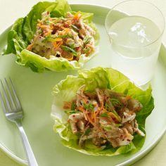 Asian Chicken Salad Lettuce Cups