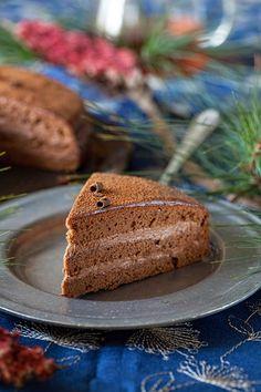 """Russian Monday: """"Prazskiy Tort"""" - Cake """"Prague"""" at Cooking Melangery"""