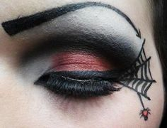 Spider+Web+Eyeshadow+https://www.makeupbee.com/look.php?look_id=76653