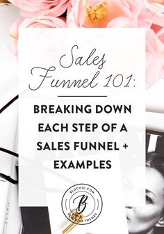 We break down each step of the sales funnel and show examples of great landing page so you'll have a better idea of how to start creating your own