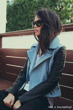 i love her jacket! and hair <3