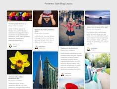 #DiviSoup Recipe - How to Create a Pinterest Style Blog Layout