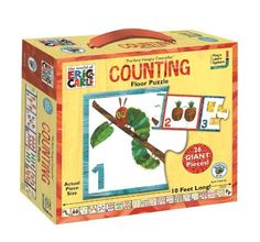 The Very Hungry Caterpillar Counting Floor Puzzle by BePuzzled, http://www.amazon.com/dp/B00CG414LW/ref=cm_sw_r_pi_dp_qA4wsb00906R3