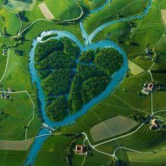 Heart River in North Dakota