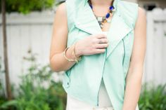 Mint vest-Kacee from Life with Lipstick On