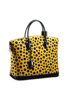 Louis Vuitton Lockit MM, $3,650; louisvuitton.com   - ELLE.com