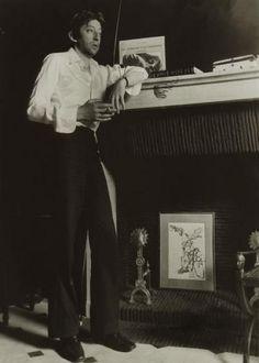 Patrick Bertrand (1939) - Serge Gainsbourg, rue de Verneuil. Paris, c. 1971.
