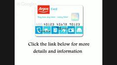 argos card services