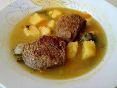 Μοσχάρι σούπα με πατάτες και καρότα !!! ~ ΜΑΓΕΙΡΙΚΗ ΚΑΙ ΣΥΝΤΑΓΕΣ 2 Greek Recipes, Pot Roast, Kai, Steak, Curry, Pork, Food And Drink, Beef, Cooking