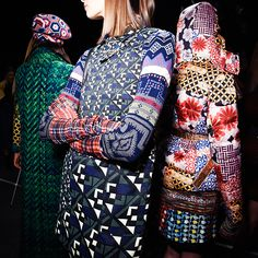 Backstage at Desigual, New York Fashion Week AW16.