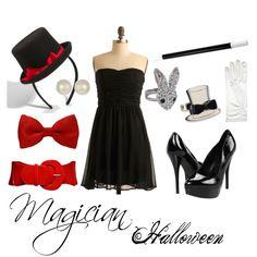"""Magician - Halloween"" by chelsealauren10 on Polyvore"