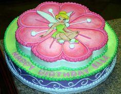 Tinkerbell deco pak Birthday Cakes | tinkerbell and flower birthday cakes Tinkerbell Birthday Cakes