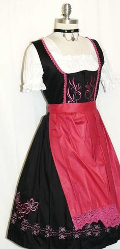 I wish I had a real dirndl for Oktoberfest...