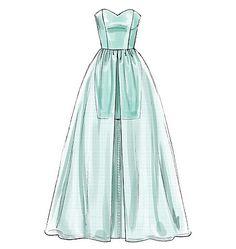 M7281 Misses' Dresses