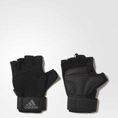 Für einen sicheren Griff beim Hanteltraining und bei deinen Klimmzügen. Diese Handschuhe sorgen mit atmungsaktivem climacool® Material für ein angenehm trockenes Tragegefühl und haben eine gepolsterte, besonders griffige Handfläche. Das saugfähige Material am Daumen schützt dich vor Schweiß.