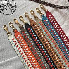 Hermes H Epsom leather shoulder strap Hermes Bags, Hermes Handbags, Hermes Birkin, Fashion Bags, Love Fashion, Key Rings, Leather Craft, Shoulder Strap, Purses