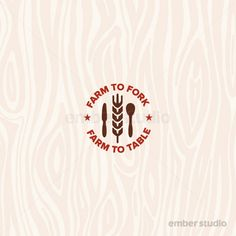 Farm to Fork - Farm to Table graphic.    © Mike McDonald / Ember Studio