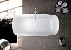 #Morbidezza ed #eleganza! #Softness and #elegance!  KALLA - #vasca / #bathtub in Astone® www.signweb.it/prodotti/kalla-4