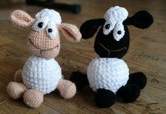 Öribarik. Bárány amigurumi. Sheep amigurumi.
