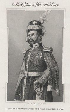 Mehmed Sadik Pasha (Michal Czajkowski) Polish Origin Ottoman Pasha (1804-1886)