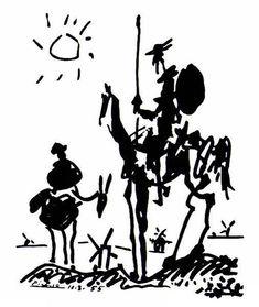Don Quixote - Picasso