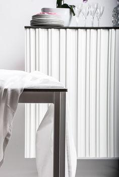 Hermanus skåp och matbord /storage and dinner table /, design Björn Welander