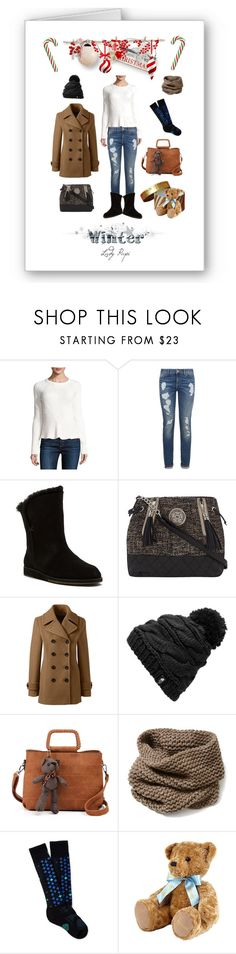 """Winter Sweater contest"" by papillon-ze-cat ❤ liked on Polyvore featuring 1.State, Tommy Hilfiger, Emu, Dorothy Perkins, Lands' End, The North Face, Lafayette 148 New York, Smartwool and Harrods"