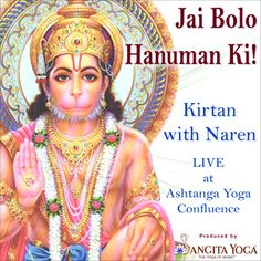 A beautiful Hanuman devotional aid from Sangita Yoga | The Confluence Countdown