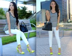 Maytedoll blog...love the neon shoes!