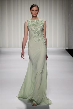 Beautiful Light Green Wedding Dress Gallery - Styles & Ideas 2018 ...