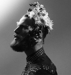 Fully obsessed with bearded men and flowers