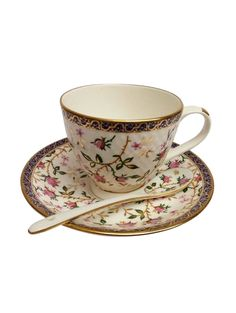 053ef62049 Buy Serving Printed Tea Cups Coffee Cups Set Of 6 Cups And Saucers Spoon by  Famacart - Online shopping for Coffee & Tea Sets in India | 15001815
