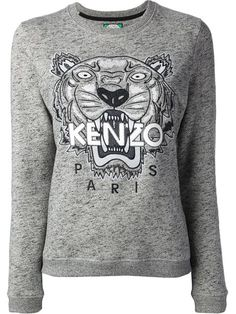 Achetez Kenzo sweat brodé Tigre en from the world's best independent boutiques at farfetch.com. Shop 300 boutiques at one address.