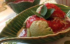 Delicious! Basil Ice Cream | Rango do Dia