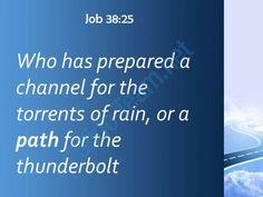 job 38 25 and a path for the thunderstorm powerpoint church sermon Slide04  http://www.slideteam.net/