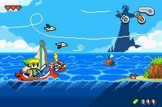 Top 43 des demakes de jeux vidéo, les remakes pour les fans de retrogaming   Wind Waker, Zelda