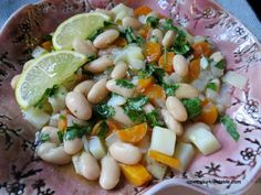 Fasulye Pilaki, White (Cannellini beans) cooked in olive oil with vegetables